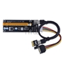 Riser PCI-E 1x zu 16x  USB 3.0 Molex PowerCable 60cm