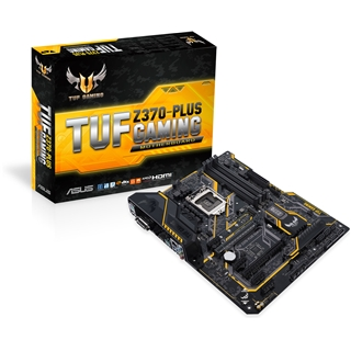 Asus TUF Z370-Plus Gaming Mainboard Sockel 1151 ATX
