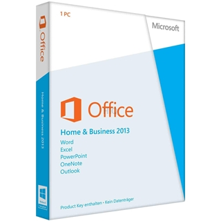Gebraucht-Software MS Office 2013 Home &  Business PKC