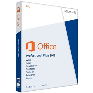 Gebraucht-Software MS Office 2013 Professional Plus