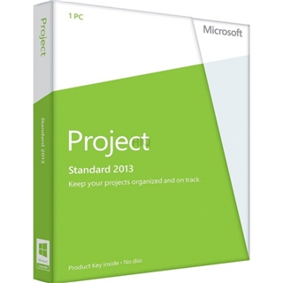 Gebraucht-Software MS Project 2013 Standard