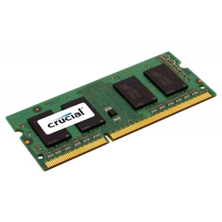 SO-DDR3 - (1x4) 4096MB Crucial - 1600MHz CL11 1.35V