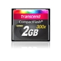 CompactFlash Card  2 GB Transcend 300x SLC-NAND