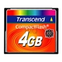 CompactFlash Card  4 GB Transcend 133x