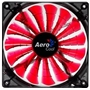 Gehäuselüfter 120x120x25mm AeroCool Shark Fan Red Edition