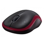 Maus Logitech Wireless Mouse M185 (rot) rot