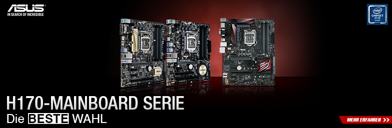 ASUS H170 Mainboards