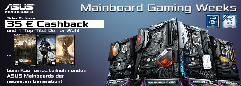 ASUS Mainboard Gaming Weeks